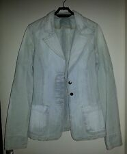Veste en Jeans Stone Washed VINTAGE -ZARA/TRF- Made in Italy T38 Style tailleur