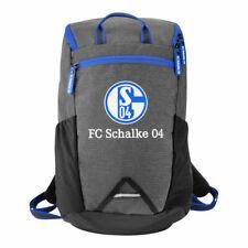 Rucksack FC Schalke 04 Tasche Sport grau schwarz königsblau 27723 S04 Fanartikel