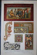 Original-Lithographien (1800-1899) aus der Schweiz