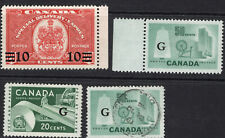 Canada Mnh/Mint Back of Book