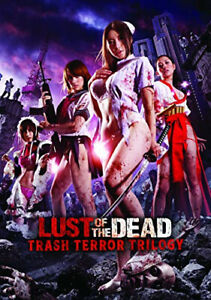 Lust Of The Dead: Trash Terror Trilogy - DVD - Free Shipping. - New