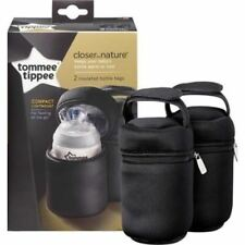 Tommee Tippee Closer To Nature Insulated bottlle Bags 1 2 3 6 12 Packs