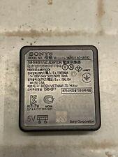 Genuine Sony AC-UB10D USB Charger AC Power Supply Adaptor 5V 0.5A Cybershot DSC