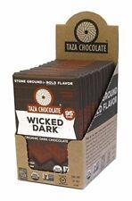 Taza Chocolate Organic Amaze Bar 95% Stone Ground, Wicked Dark, 2.5 Ounce