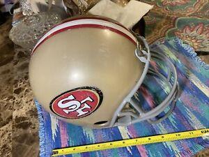 SAN FRANCISCO 49ers 1980s NFL Franklin FULL SIZE Replica Football Helmet