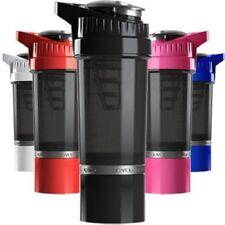 Cyclone cup mezclador Batidor De Gimnasio Proteína en Polvo Botella 500 Ml con cápsula de almacenamiento de información