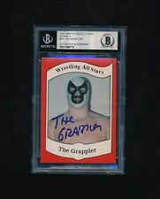 1983 Wrestling All Stars Series A The Grappler RC #21 signed autograph BGS BAS