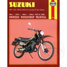 Suzuki TS 125 ER 1980 Haynes Service Repair Manual 0797