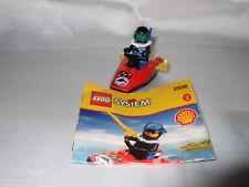 Lego System 2536 Jetski Schnellboot Taucher mit einer Figur Shell Nr.2 OBA