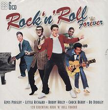 ROCK'N'ROLL FOREVER - 6 CD - 120 ESSENTIAL ROCK 'N' ROLL TRACKS  ( Neu )