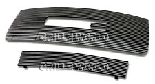 For 2007-2010 GMC Sierra 2500/3500 HD Billet Premium Grille Grill Combo Insert