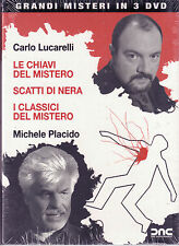 Grandi Misteri Carlo Lucarelli 3 Dvd Sigillato