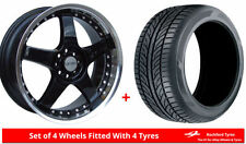 Lenso Civic Wheels with Tyres