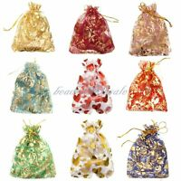Gauze Organza Gift Bag Jewelry Packing Pouch Wedding Favor Gift Bags 10x12cm New