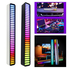 Neuheit LED USB Pickup Rhythmus Lichtleiste RGB Atmosphäre Lampe Car Van