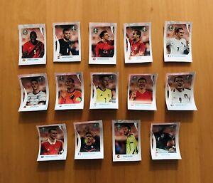 ⚽️Panini Euro EM 2020 Tournament Edition Coca- Cola Sticker Komplett Set C1- C14