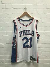 Philadelphia 76ers Nike Men's NBA Association Jersey - XL - No Name 21 - New