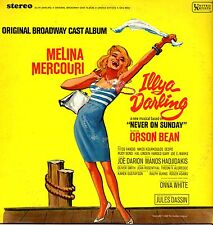 ILLYA DARLING Original Broadway Cast Album MELINA Musical 1966 LP (Vinile=M) USA