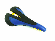 Gipiemme Plus Bicycle Saddle Blue Racing Vintage NOS