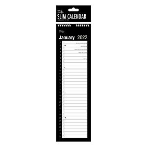 2022  Slim Calendar With Spiral Bound One Month to View Planner UK Seller