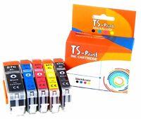 TS-Print Set Patronen ersetzt Canon PGI-570 CLI-571 XL Pixma TS8051 TS8052