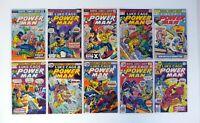 POWER MAN LUKE CAGE #25-38 Marvel Comics Lot of 14 Black Goliath VG-VF '75-76
