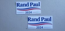 Rand Paul 2024 Bumper Stickers. Made In USA