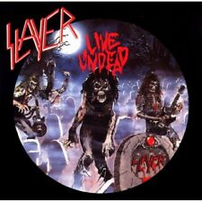 SLAYER - Live Undead LP COLORED VINYL ALBUM - Classic Thrash Metal Record NEW