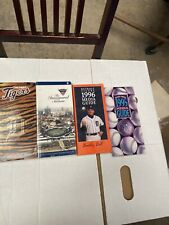 Lot Of 4 Detroit Tigers Media Guides 1995,1996,1997,2000