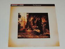 BOOKER T. JONES the runaway Lp RECORD PROMO BOOKER T JONES