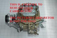 1971 73 YOUR FORD 4300D MOTORCRAFT CARBURETOR RESTORED D1ZF-ZA D2ZF-AA D3ZF-LA