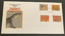 1983 Animals Definitive Issues Reptiles & Amphibian Australian Fdc Blackburn Vic