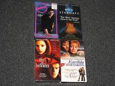 4 VHS Tapes in Plastic Seal - Drama - Kurt Russel / Tom Cruise / Ashley Judd
