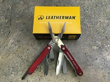 Leatherman Squirt PS4 Multitool - Red - 831189  9 Tools  Do it Yourself Projects