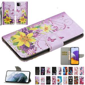 Flip Wallet Phone Case Cover For Samsung Galaxy A12 A22 A32 A42 5G A51 A71 A11