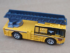 2009 Matchbox LADDER TRUCK #60 Emergency Response LOOSE Yellow
