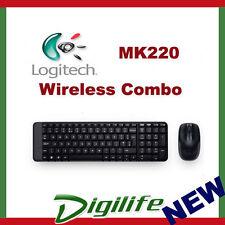 Logitech MK220 Wireless Combo Desktop Keyboard & Mouse 2.4Ghz