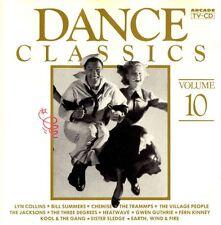 DANCE CLASSICS volume 10 - 14TR CD 1988 DISCO / Arcade
