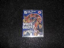 WHO'S GUILTY CLIFFHANGER SERIAL 15 CHAPTERS 2 DVDS