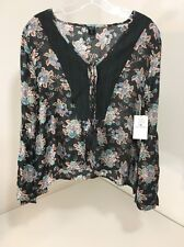 VOLCOM WOMEN'S SALTY FREE TOP MULTICOLOR NWT $55