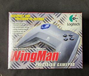 Logitech WingMan Precision Gamepad Gray for Win 95 98 2000 & Linux