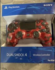 Sony DualShock PS4 Controller - Red Camouflage Very Fast Shipping