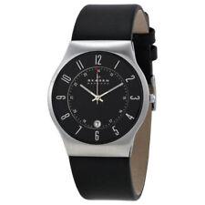 Relojes de pulsera Date de acero inoxidable resistente al agua
