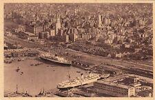 ARGENTINA - Buenos Aires - Vista Parcial del Puerto y de la Ciudad (Foto Aerea)