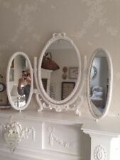 Baroque/Rococo Style Oval Dressing Table Decorative Mirrors