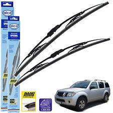 Fits Nissan Pathfinder R51 Bosch Superplus Front Windscreen Wiper Blades