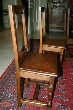 Chaises lorraines en chêne massif. Il reste 4 chaises, 13€/pièce !