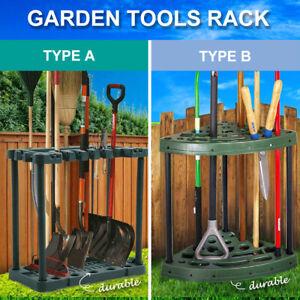 Garden Farm Shed Garage Tools Storage Rack Long Short Handles Organizer Holder