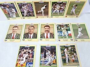 ACB Buttercup Promotional ICC Cricket Player 13 1996 Completion Collector Cards