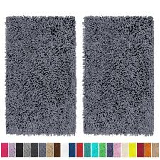 LuxUrux Bathroom Rug Set  2pc Bath mat-Extra-Soft Plush Non-Slip Bath Shower